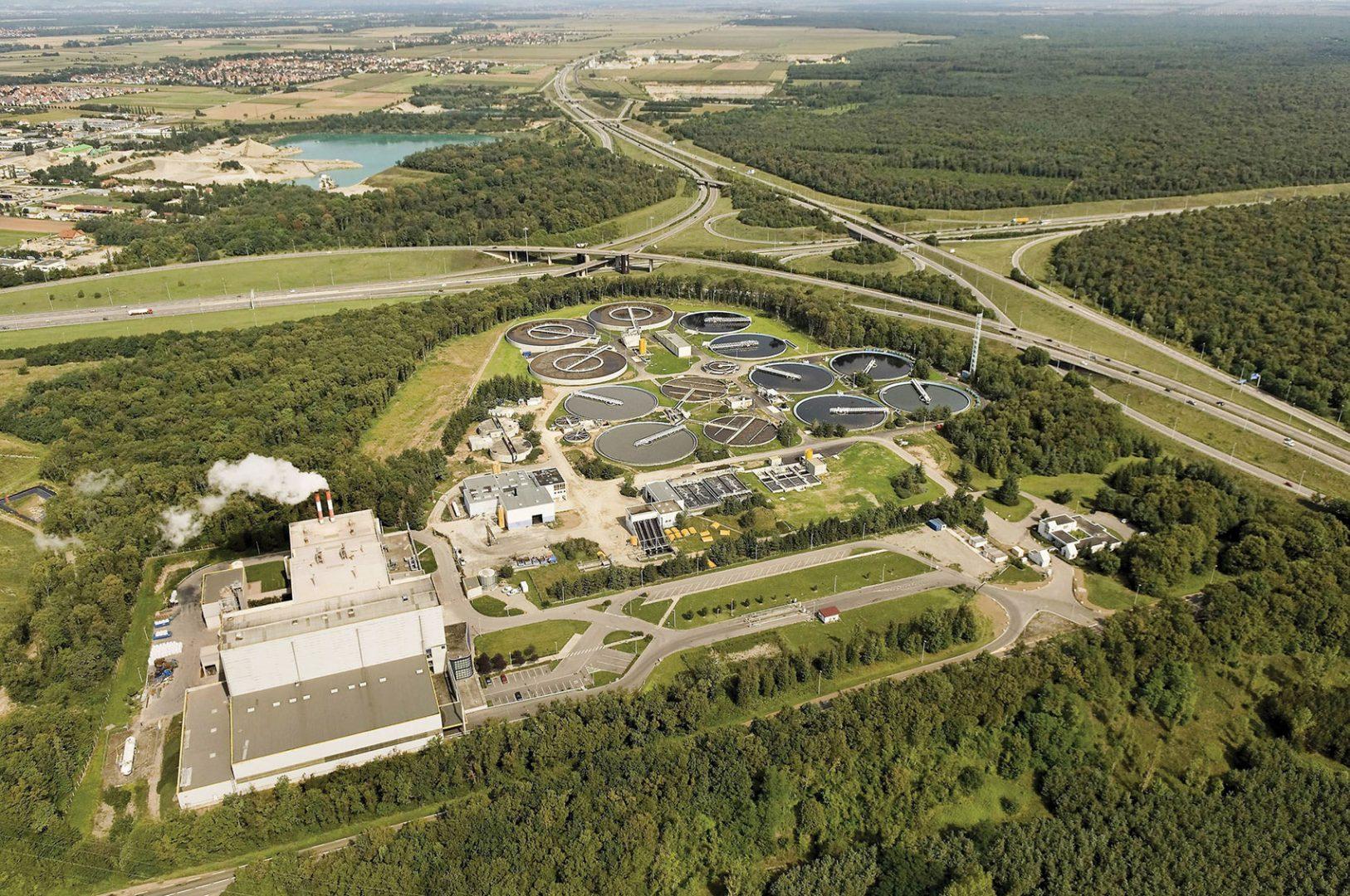 Implantée à Sausheim et exploitée par Suez, l'usine de valorisation énergétique a incinéré 151 000 tonnes en 2017, dont 64 000 d'ordures ménagères de l'agglomération mulhousienne.