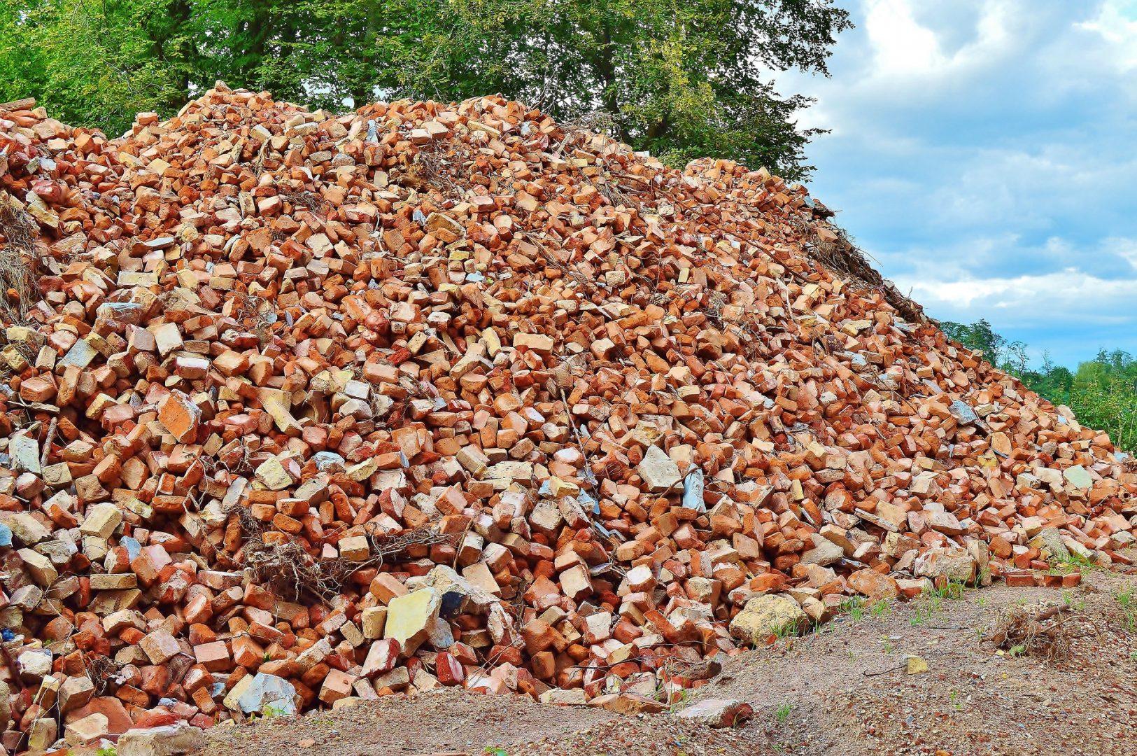 déchets chantier bâtiment