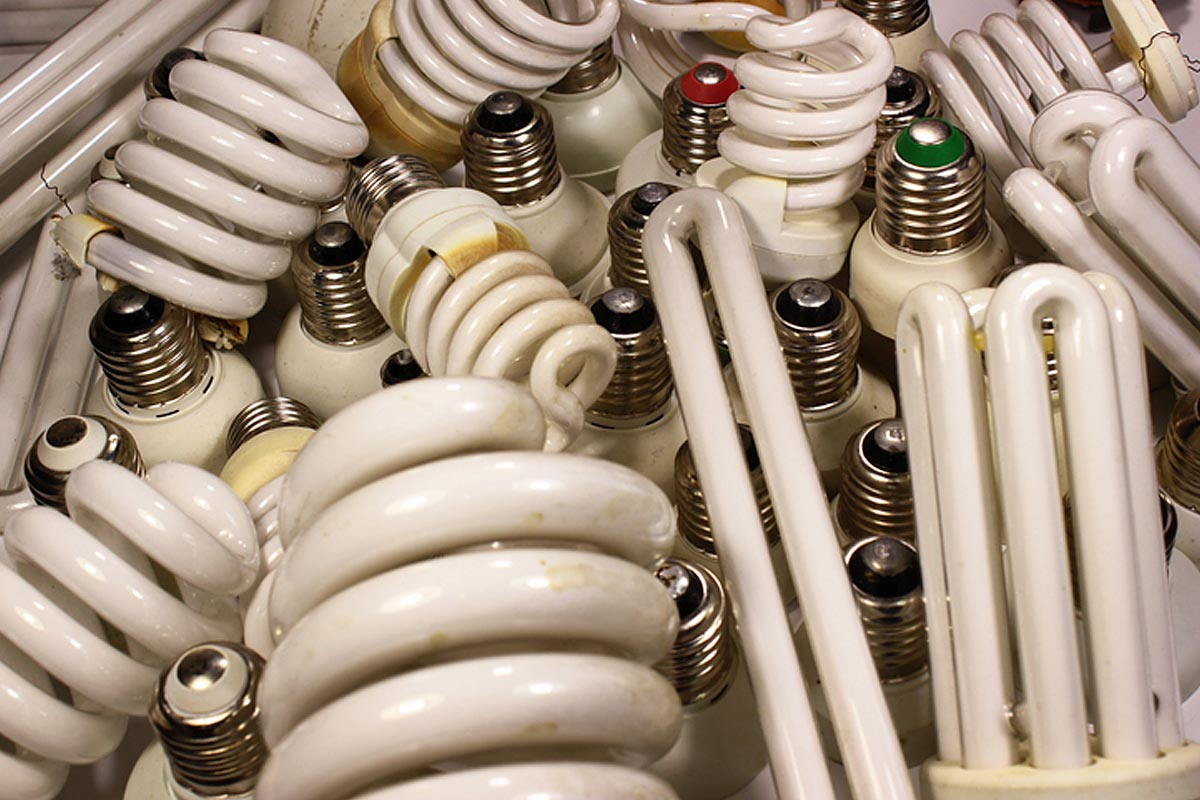 collecte recyclage lampes usagées
