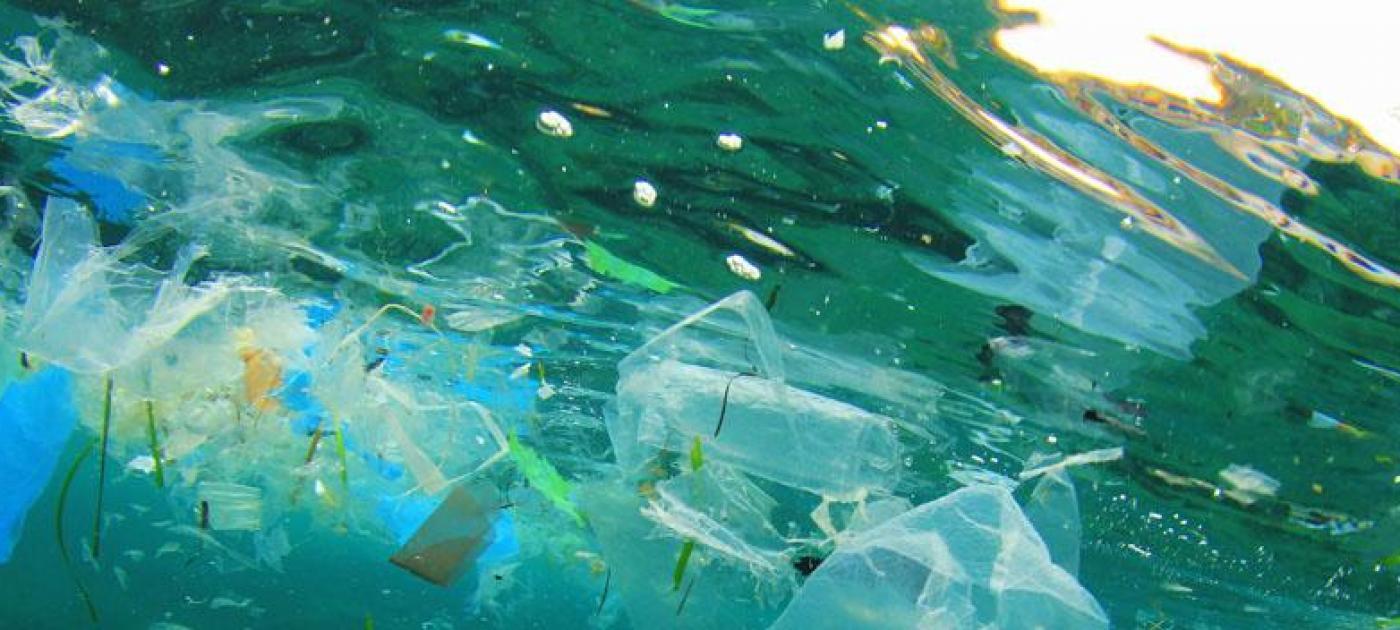 déchets plastique microplastique océan