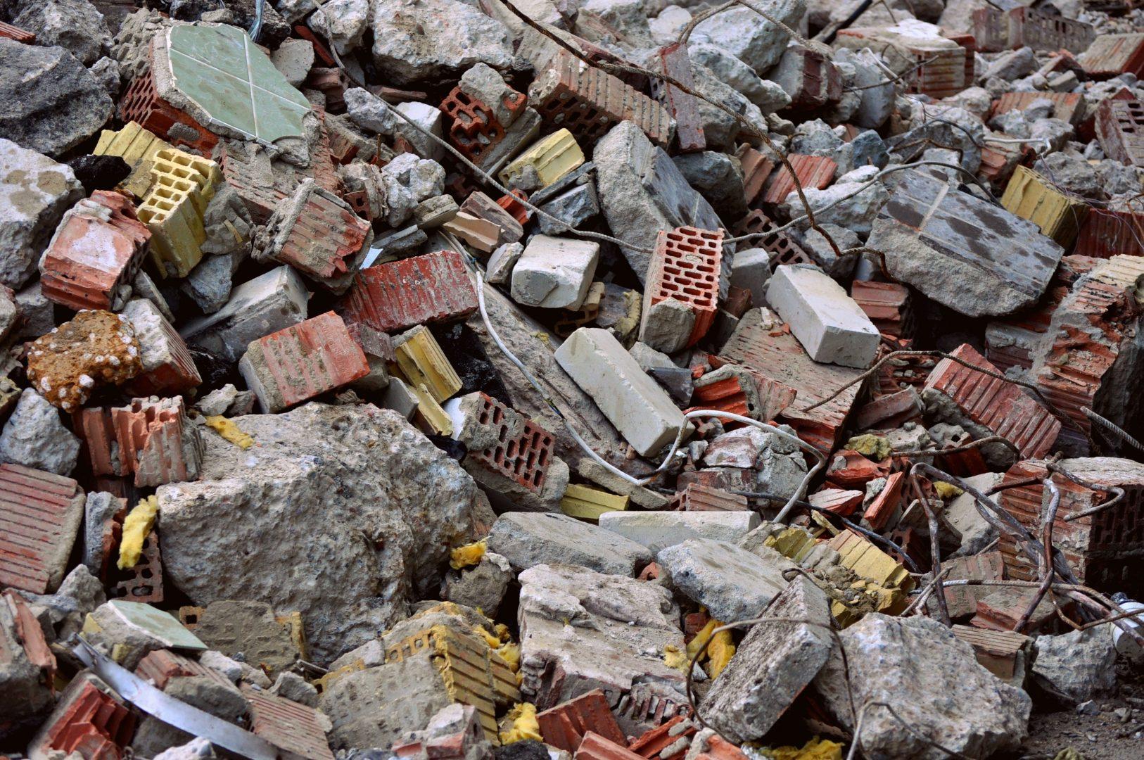 déchets BTP bâtiment chantier