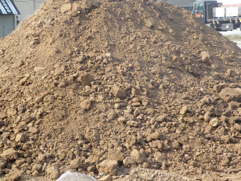 terres excavées chantier