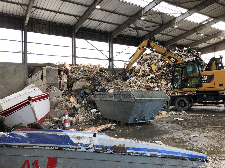 déconstruction déchets bateaux