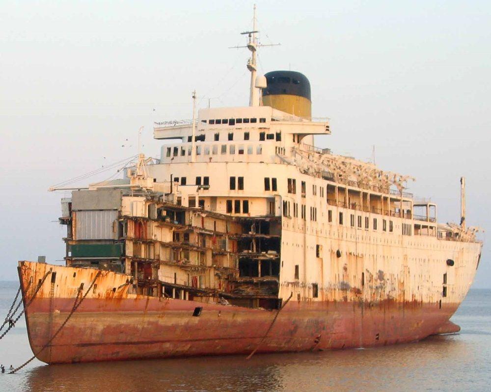 démantèlement navire bateau