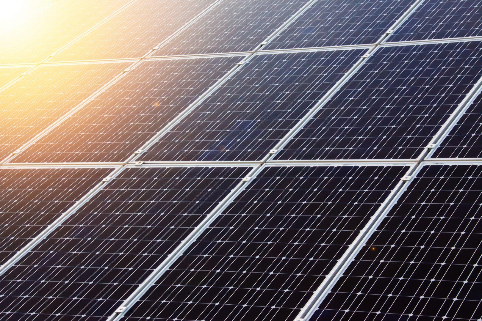 énergie solaire photovoltaïque panneaux