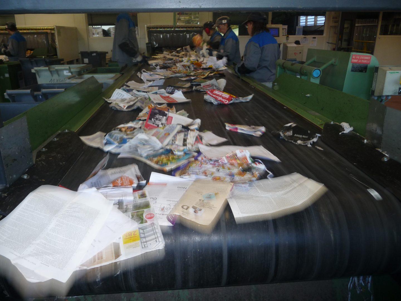 Tri des déchets ménagers recyclables
