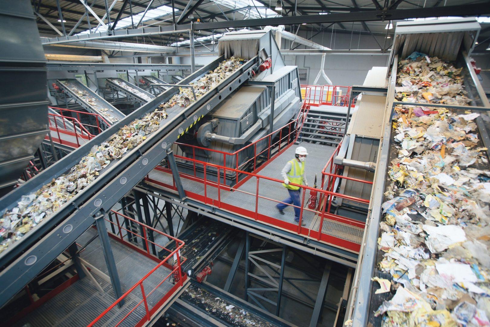 L'usine de valorisation matière de Ludres