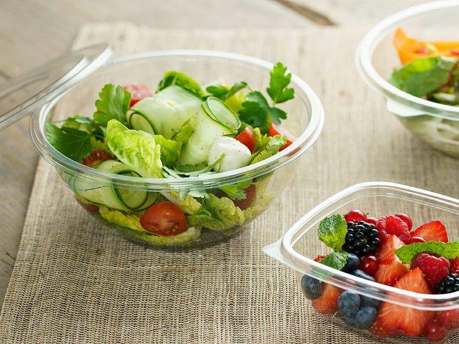 Emballage alimentaire 100% recyclé Sabert