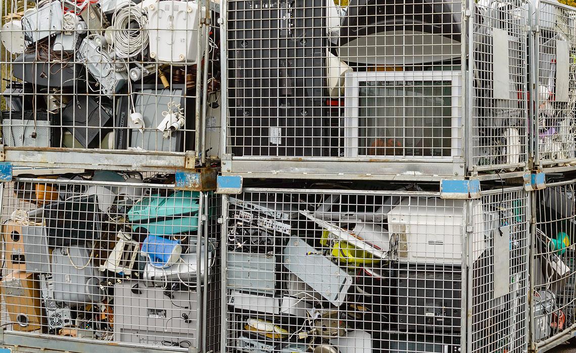 déchets d'équipements électriques et électroniques
