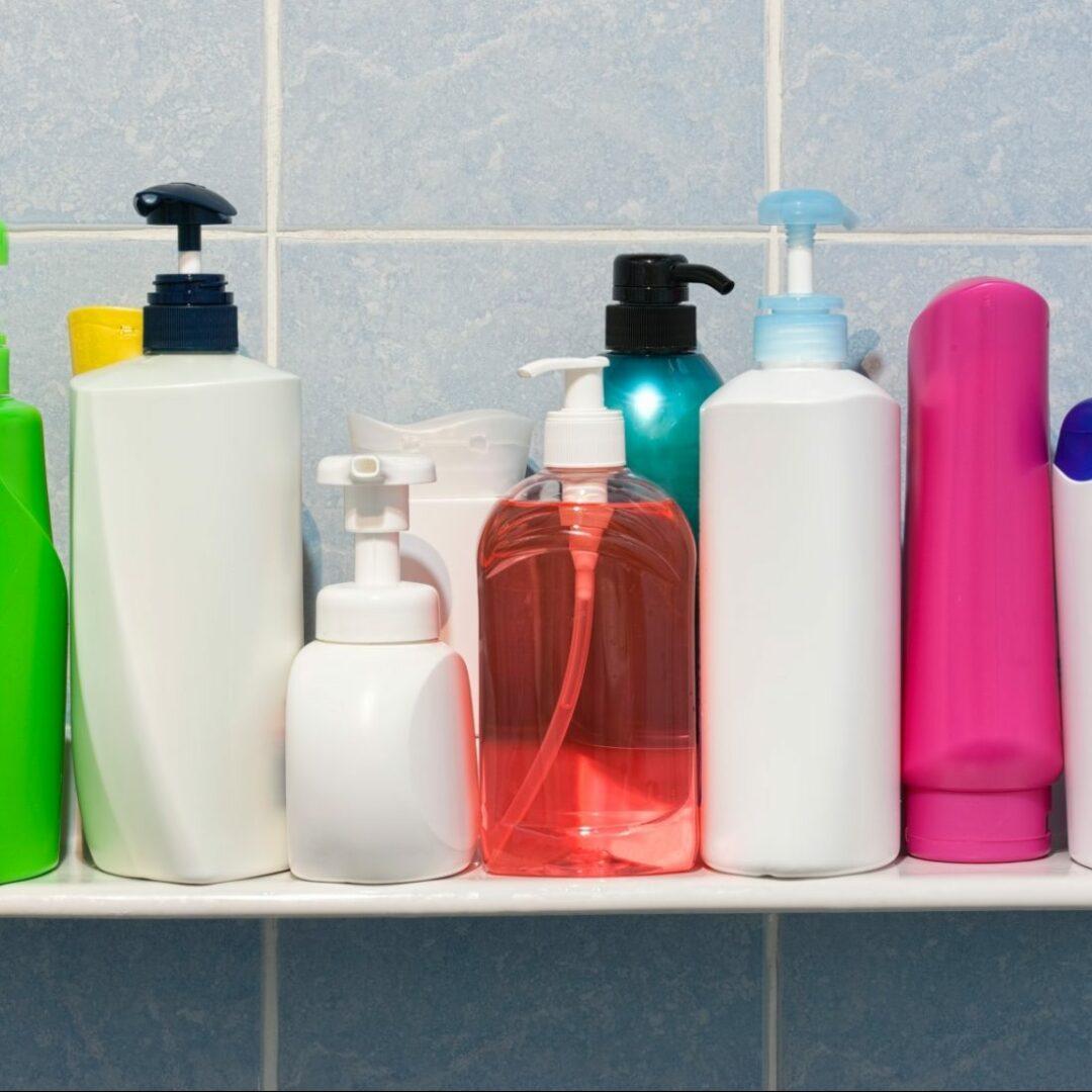 Flaconnage de salle de bain