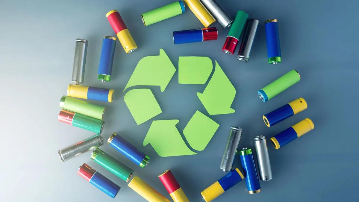 recyclage des piles