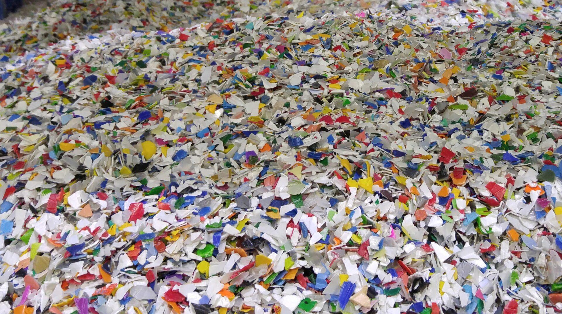 matières plastiques recyclées