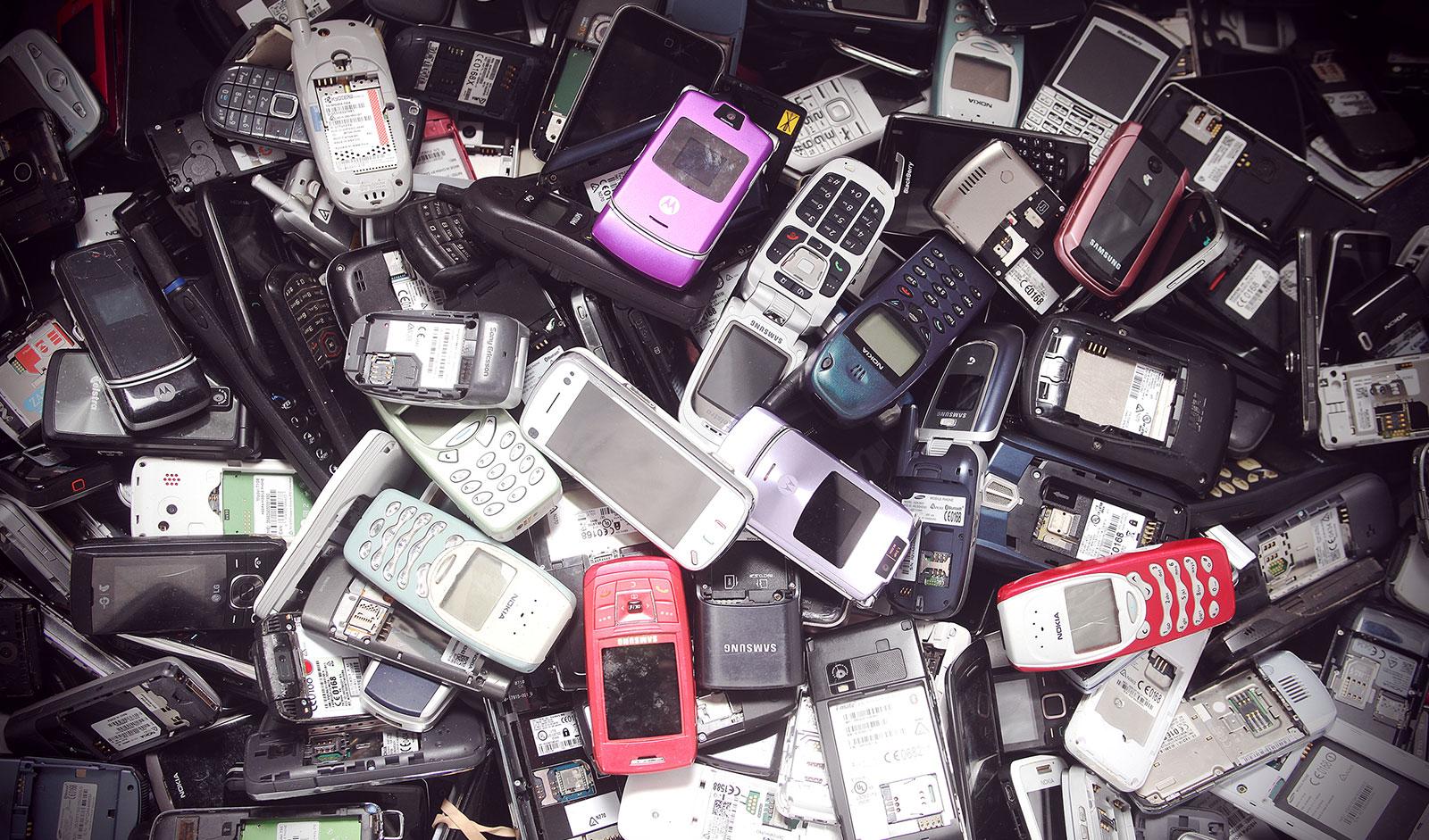 Téléphones usagés