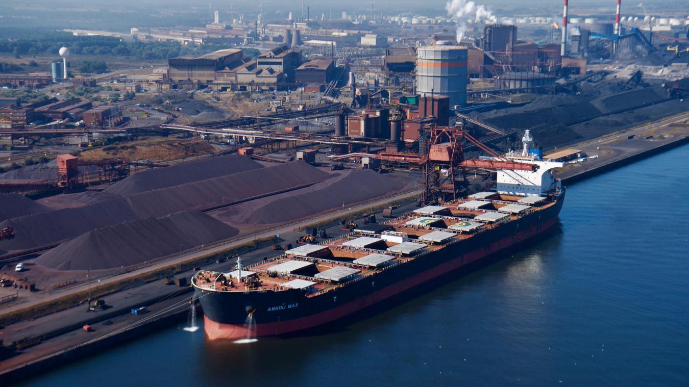 Le site Arcelor Mittal de Dunkerque produit plus de 6 millions de tonnes d'acier par an © Arcelor Mittal
