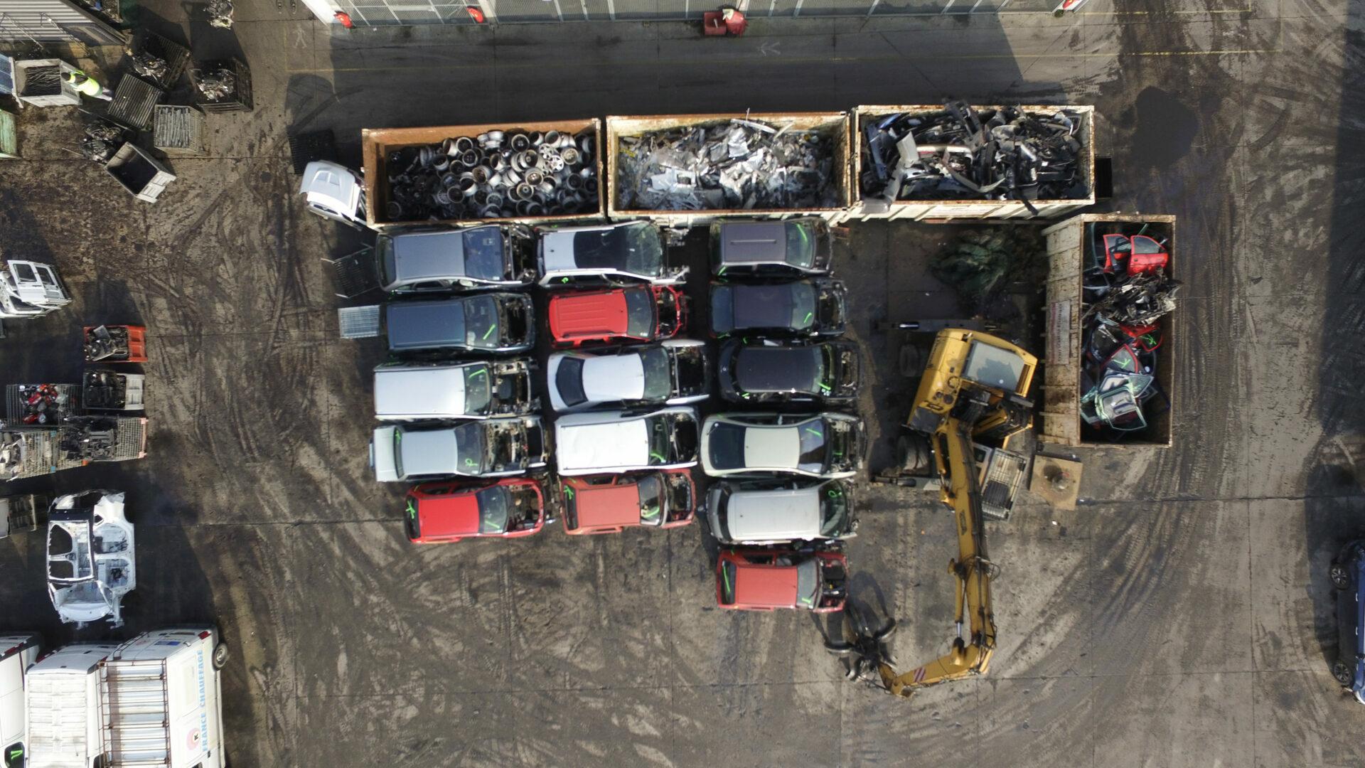 Centre de déconstruction et de recyclage des VHU Indra