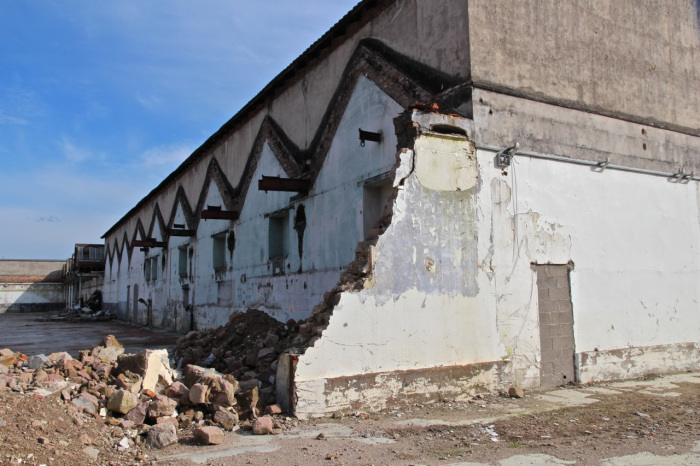 Ancienne usine Bragard, à Epinal