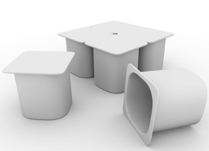 Polystyrène : de l'avenir des pots de yaourt