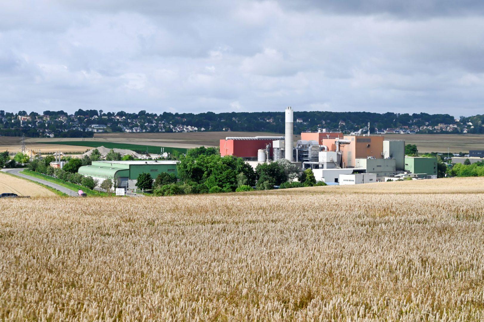 usine Détails du fichier joint PAPREC_Energies Thivernal Grignon